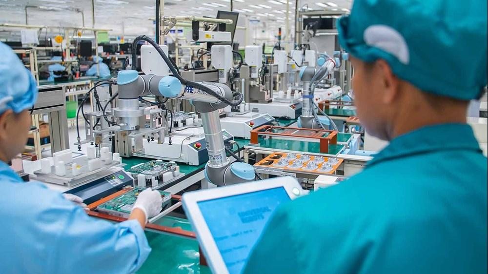 تهویه تولیدات الکترونیکی